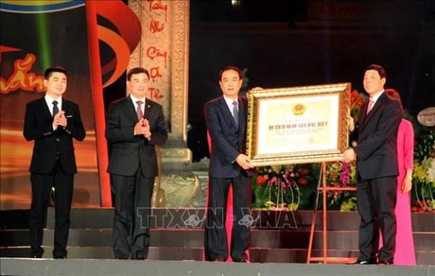 Inauguran Semana de Cultura y Turismo de provincia vietnamita de Bac Giang hinh anh 1