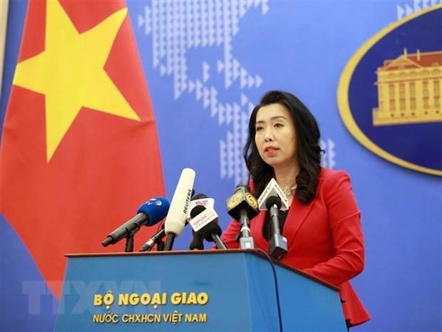 Respalda Vietnam esfuerzos para reanudar proceso de paz en Medio Oriente hinh anh 1