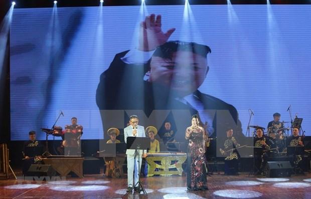Celebran Vietnam y Corea del Norte aniversario 70 del establecimiento de vinculos diplomaticos bilaterales hinh anh 1