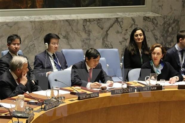 Vietnam reafirma compromiso de contribuir a lazos entre ASEAN y ONU hinh anh 1