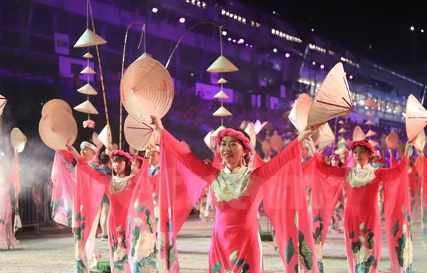 Vietnam participa en mayor espectaculo callejero de Asia en Singapur hinh anh 1