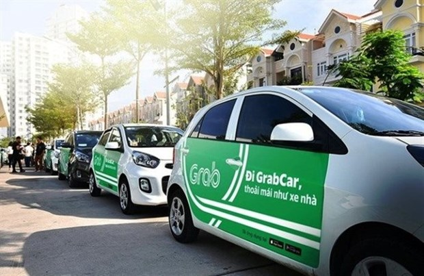Debuta en Indonesia servicio GrabCar Electric hinh anh 1