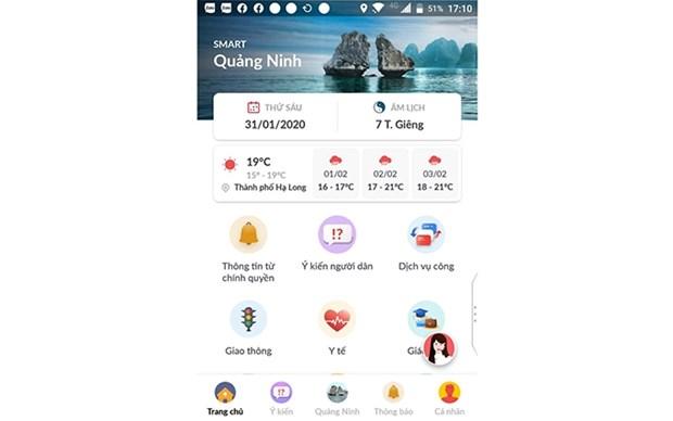 Activa provincia vietnamita de Quang Ninh aplicacion de celular para prevenir coronavirus hinh anh 1