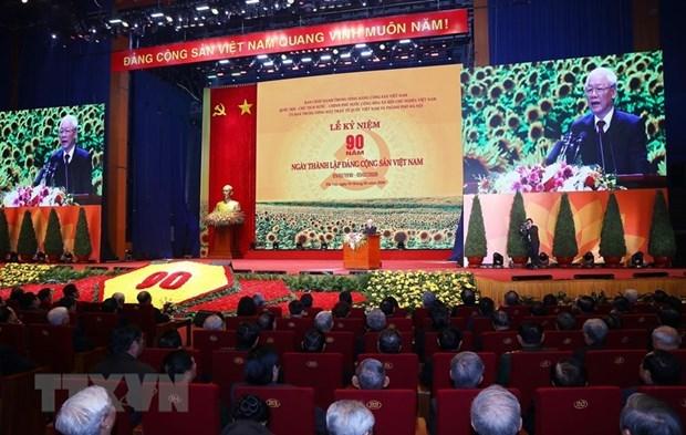 Felicitan fuerzas politicas a Partido Comunista de Vietnam por aniversario de su fundacion hinh anh 1