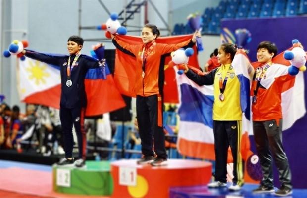 Luchadores vietnamitas buscaran boletos olimpicos en el Campeonato Asiatico hinh anh 1