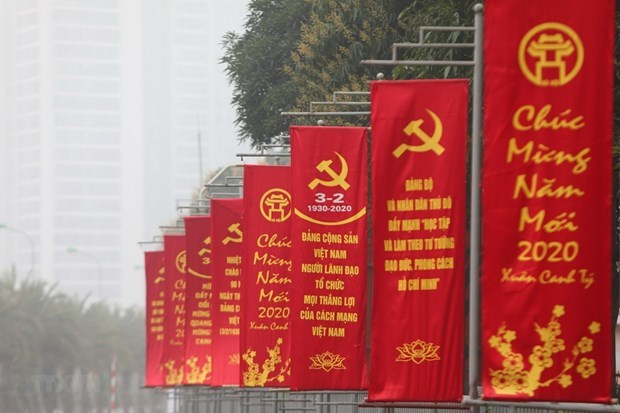 Diversos paises felicitan a Vietnam por aniversario 90 del Partido Comunista hinh anh 1