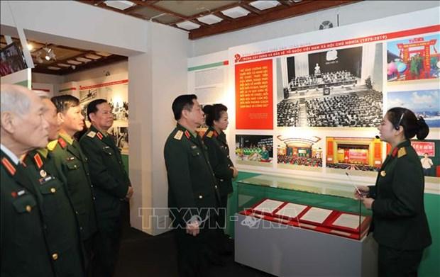 Exposicion sobre la historia del Partido Comunista de Vietnam abre sus puertas en Hanoi hinh anh 1