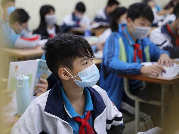 Localidades vietnamitas suspenden actividades escolares por coronavirus hinh anh 1