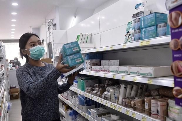 Tailandia busca controlar precios de mascarillas y limpiadores de manos ante brote de coronavirus hinh anh 1