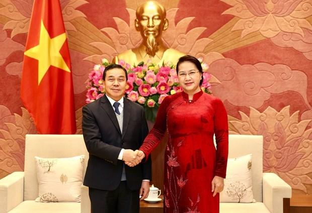 Vietnam y Laos intensifican cooperacion legislativa hinh anh 1
