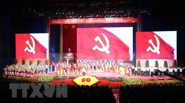 Continua Partido Comunista de Vietnam recibiendo felicitaciones por 90 aniversario de su fundacion hinh anh 1
