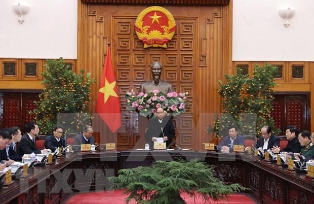 Premier de Vietnam exige medidas para minimizar impacto de coronavirus en economia hinh anh 1
