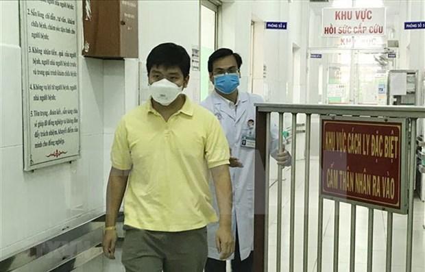 Recibe alta medica en Vietnam otro paciente infectado con el coronavirus hinh anh 1