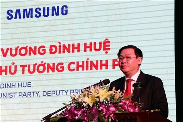 Vietnam impulsa desarrollo de industrias de apoyo, afirma su viceprimer ministro hinh anh 1