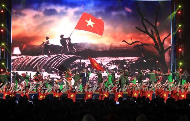 Organizan telepuente por los 90 anos del Partido Comunista de Vietnam hinh anh 1