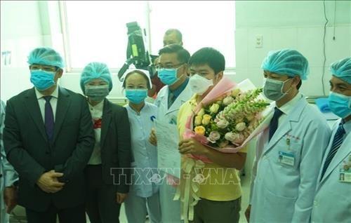Tratan con exito el tercer caso de coronavirus en Vietnam hinh anh 1