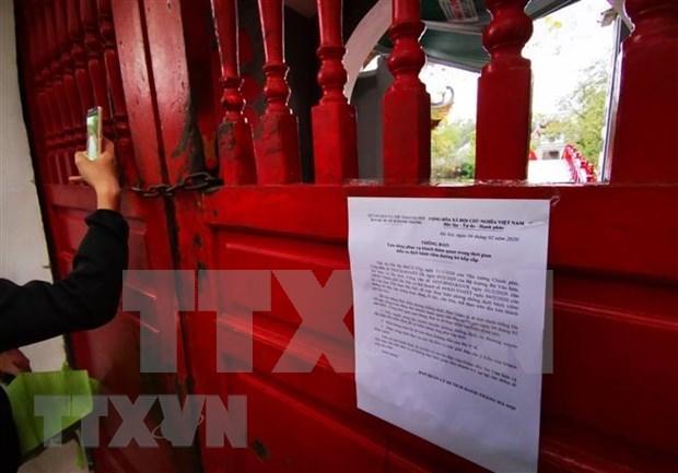 Hanoi garantiza seguridad de los turistas ante amenaza del coronavirus hinh anh 1