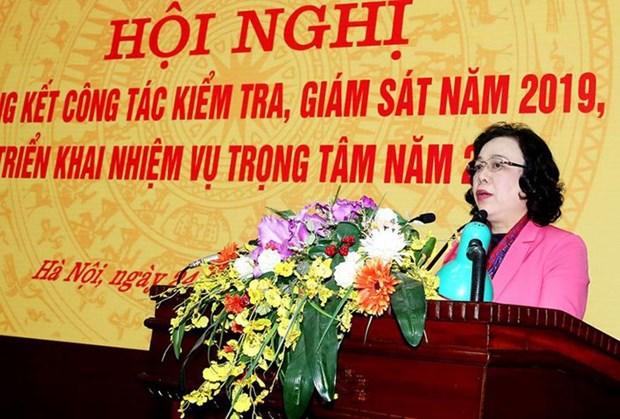 Comite partidista de Hanoi recauda fondos para pobladores islenos hinh anh 1