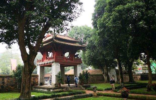 Reanuda Hanoi actividades en sitios turisticos hinh anh 1