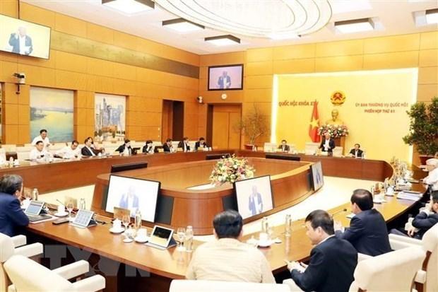 Celebrara Comite Permanente del Parlamento de Vietnam su reunion 42 hinh anh 1