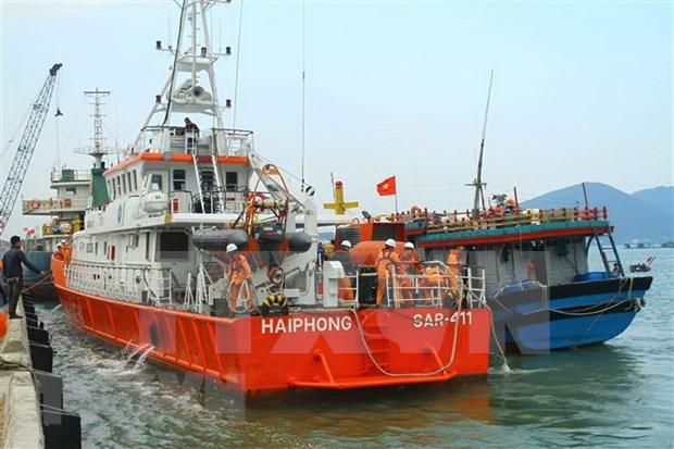 Pondran en cuarentena buques zarpados de China antes de ingresar a Hai Phong hinh anh 1