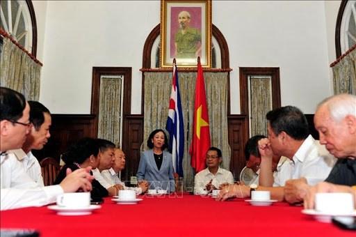 Celebran en Cuba aniversario 90 de la fundacion del Partido Comunista de Vietnam hinh anh 1