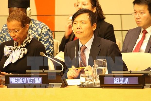 Respalda Vietnam fortalecimiento de lazos entre organismos de seguridad de Europa y ONU hinh anh 1