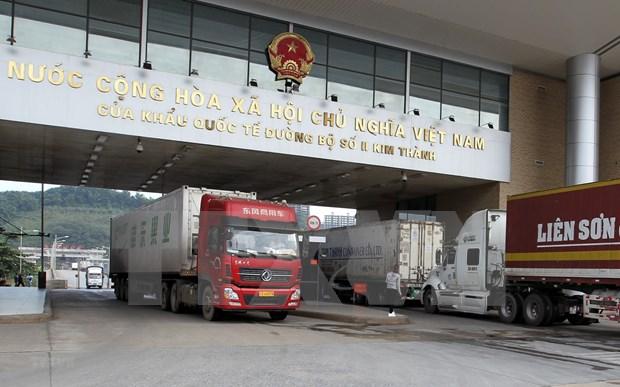 Vietnam reanuda comercio trasfronterizo con China hinh anh 1