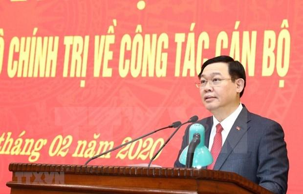 Designan a nuevo secretario del Comite del Partido Comunista en Hanoi hinh anh 1
