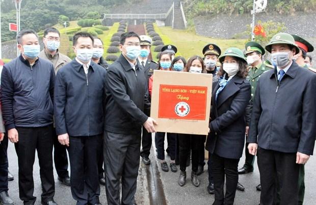 Provincia vietnamita ayuda a region china en lucha contra nuevo coronavirus hinh anh 1