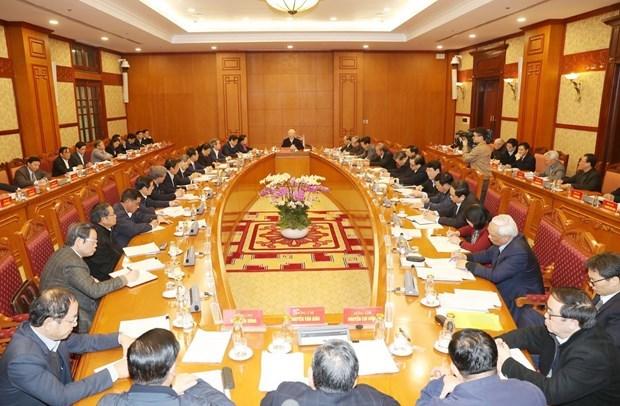 Exhortan a perfeccionar documentos del XIII Congreso del Partido Comunista de Vietnam hinh anh 1