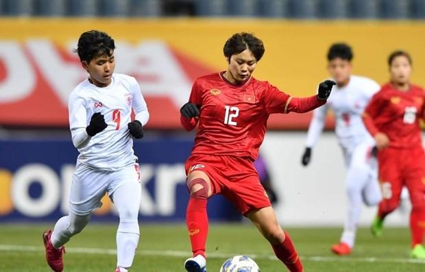 Avanza Vietnam a playoffs de futbol femenino para Juegos Olimpicos de Tokio 2020 hinh anh 1