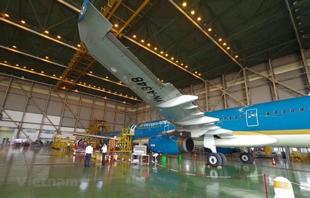 Fundaran en Vietnam empresa conjunta de reparacion y mantenimiento de aeronaves hinh anh 1