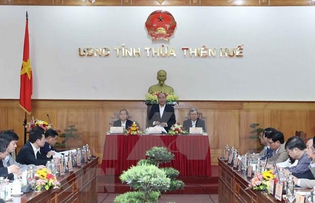 Insta premier de Vietnam a mitigar impactos de coronavirus en provincia central hinh anh 1