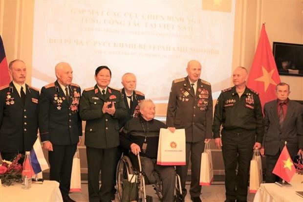 Reiteran agradecimiento a veteranos rusos por respaldo a pasada lucha de Vietnam hinh anh 1