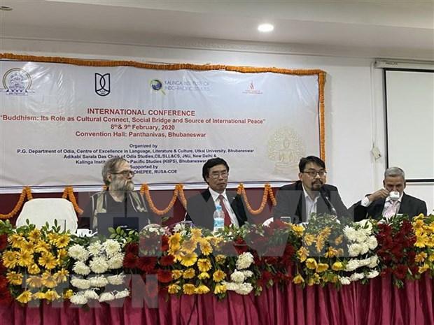 Asiste Vietnam a simposio internacional de budismo en India hinh anh 1