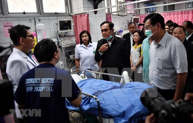 Expresa Vietnam solidaridad con Tailandia por tiroteo masivo hinh anh 1