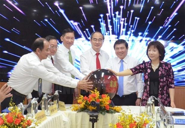 Entra en funcionamiento primer centro de gestion inteligente de servicios de salud en Vietnam hinh anh 1