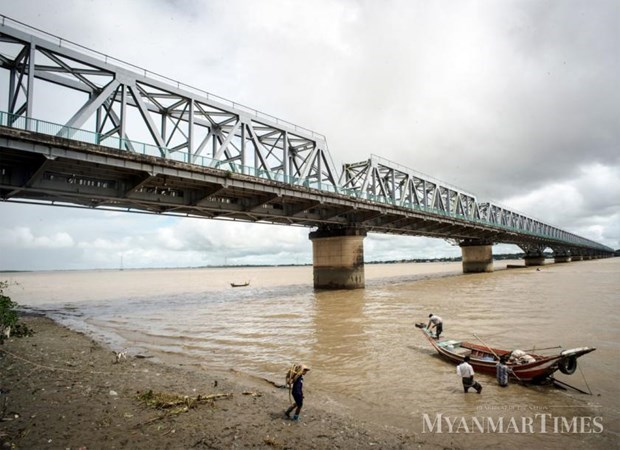 Empresa japonesa ejecuta proyecto de reconstruccion de puentes en Myanmar hinh anh 1