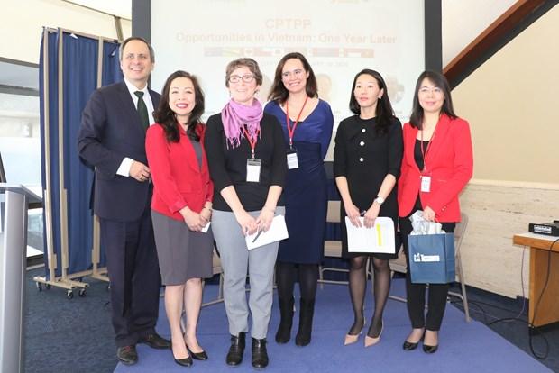 Acuerdo Transpacifico abre nuevas oportunidades a empresas vietnamitas y canadienses hinh anh 1