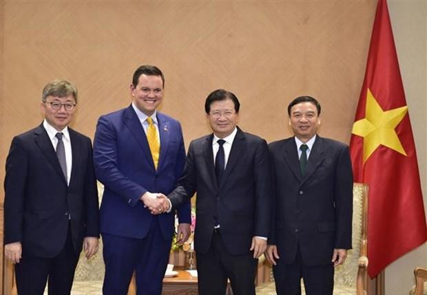 Inversores extranjeros muestran interes en proyectos de energia en Vietnam hinh anh 1