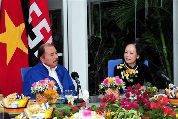 Vietnam es ejemplo para Nicaragua, afirma lider del FSLN hinh anh 1