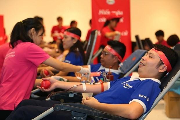 Convocan a trabajadores en Vietnam a donar sangre hinh anh 1