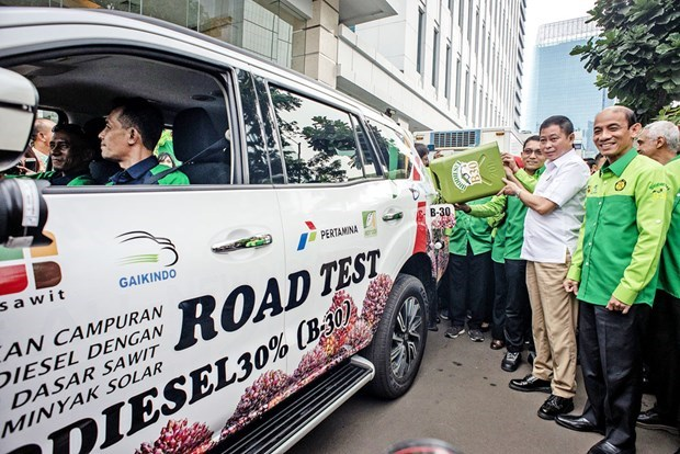 Indonesia comenzara a utilizar biodiesel B40 en marzo hinh anh 1
