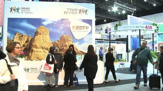 Participan empresas vietnamitas en Feria Internacional de Turismo Mediterraneo en Israel hinh anh 1