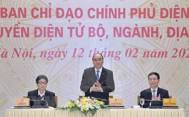 Insta premier de Vietnam a facilitar acceso a servicios de gobierno electronico hinh anh 1