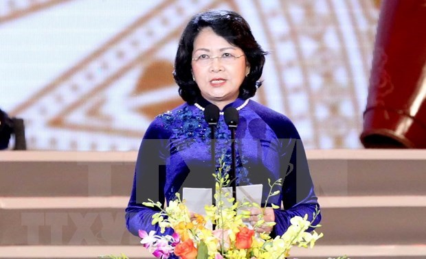 Vicepresidenta de Vietnam visita la India hinh anh 1