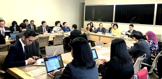 Preside Vietnam reunion de Comite coordinador de ASEAN sobre la OMC hinh anh 1