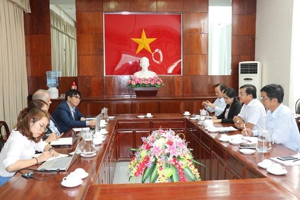 Cooperan ciudad vietnamita de Can Tho y ONU-Habitat en temas de clima y energia hinh anh 1