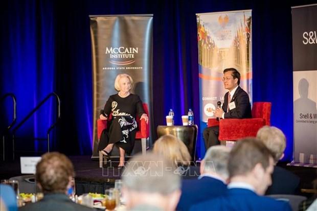 Promueven Vietnam y estado norteamericano de Arizona cooperacion economica hinh anh 1
